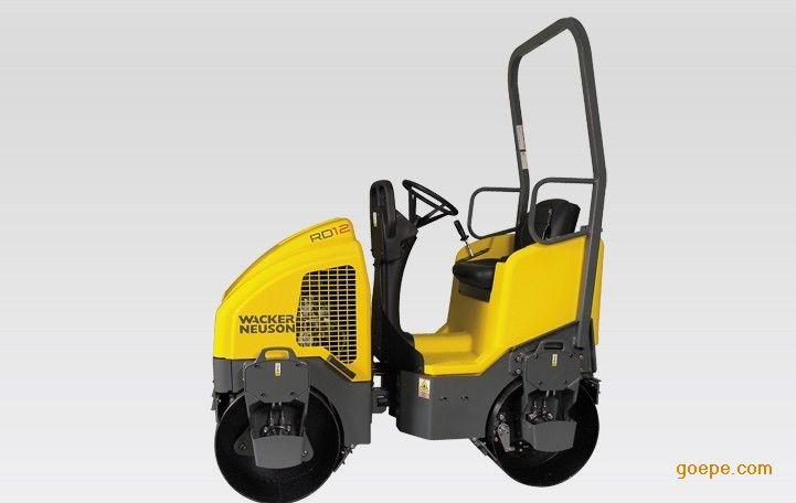 优异均匀双钢轮压路机威克诺森rd12a90快速夯实