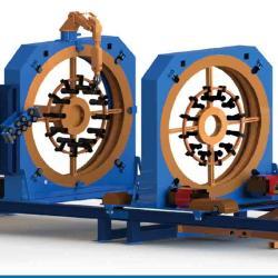 滁州沃尼特钢筋笼自动滚焊机价格/五机头弯箍机代理商
