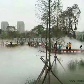 西安造景造雾景点水上世界景观喷雾厂家