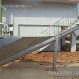 污水处理厂沉砂池专用无轴螺旋砂水分离器/砂水分离器的特点