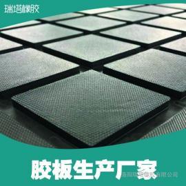 洛阳耐磨滚筒包胶厂家主打高品质CN层耐磨胶板