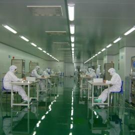 山西食品厂净化板装修净化工程
