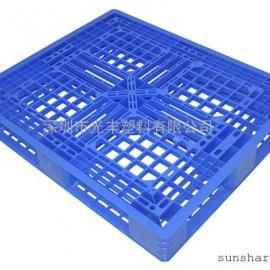 供应1.2*1米田字型塑料卡板高150MM|地台板|栈板