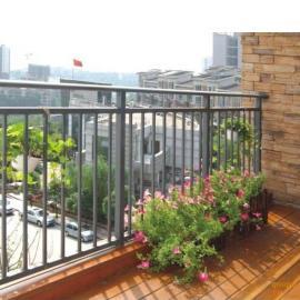 深圳阳台护栏锌钢围栏铁艺栏杆锌钢栅栏厂家