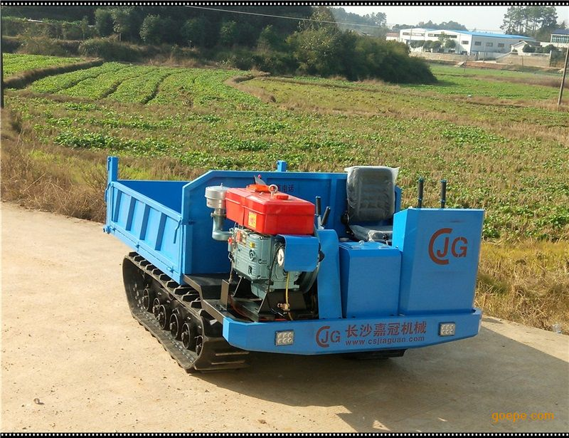 2017款加强型3吨jg-3t11a履带运输车履带式拖拉机图片