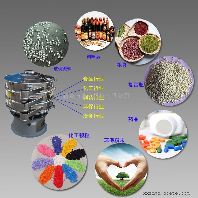 食品级不锈钢振动筛/除杂过滤 分级筛 2017最新研发