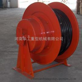 强磁吸盘供电卷线器 JTA型卷取16平方电缆容绳器 电动平板车卷筒