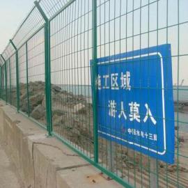 高铁桥下双边丝防护栏