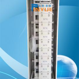 室内684芯光纤总配线架又称开放式684芯MODF光纤总配线架结构