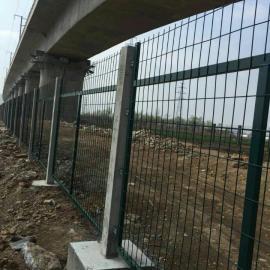 高铁桥下两侧防护栅栏价格