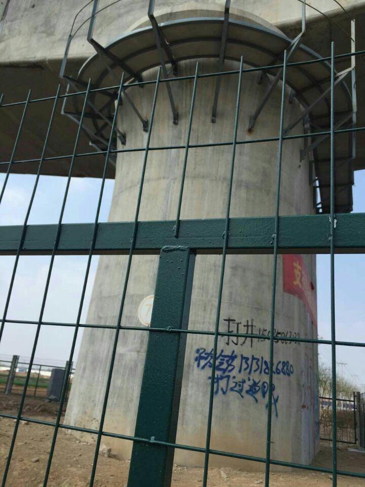 高铁桥墩防护围栏