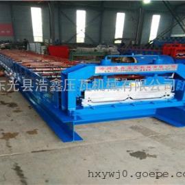 浩鑫机械供应新型高空升降820角驰压瓦机