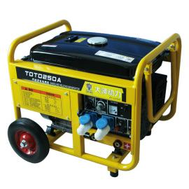 280A开架式汽油发电焊机