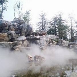 园林景观人造雾价格园林人造雾造景西南地区喷雾设备厂房