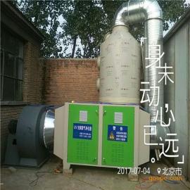 庆云县喷漆废气处理设备 乐旺热售喷淋塔漆雾过滤器漆雾吸附箱