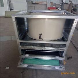 乐旺厂家直销汉中三层过滤活性炭漆雾处理箱 活性炭废气处理箱