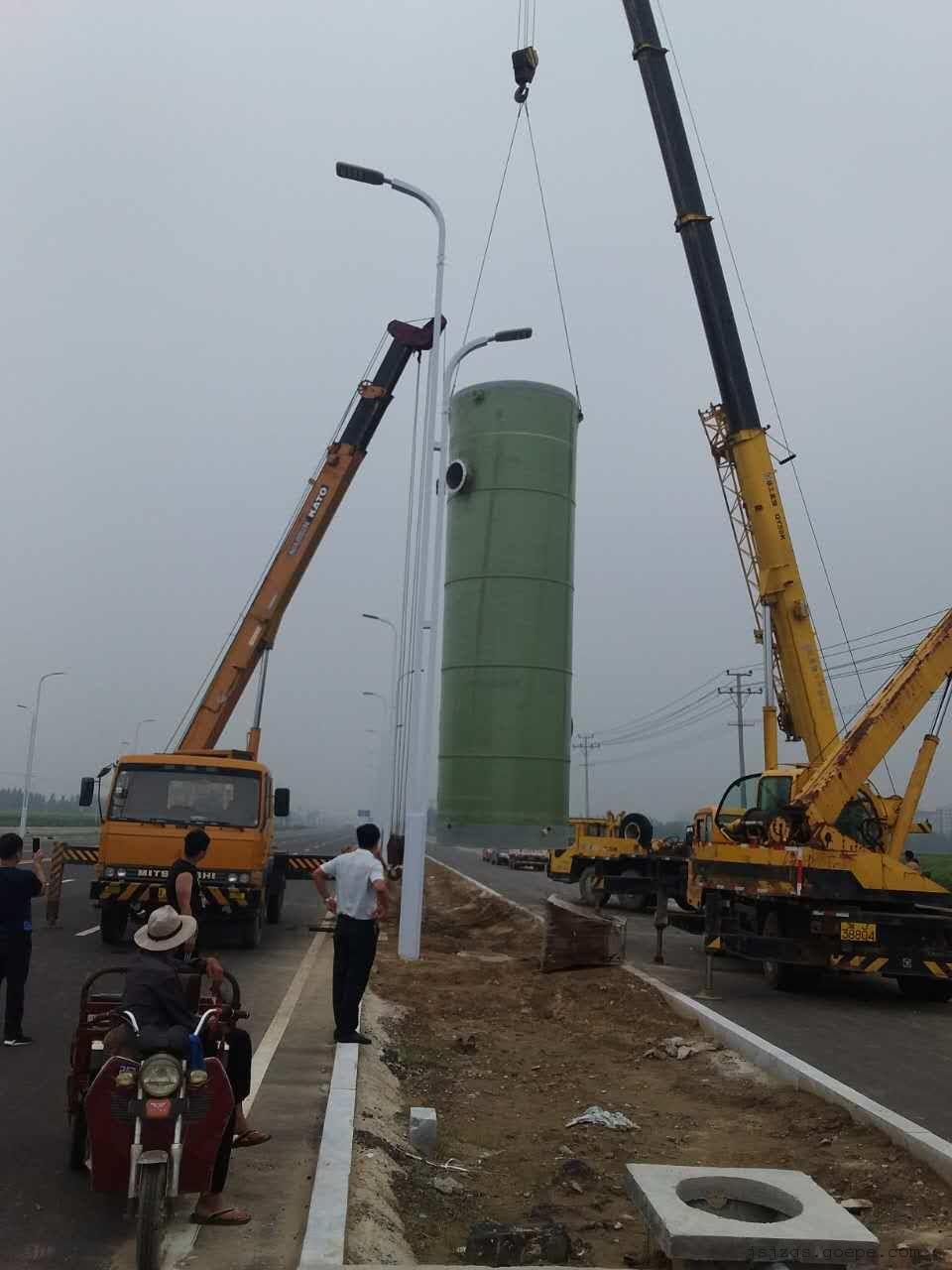 安徽芜湖市3.8×10米一体化预制泵站厂家