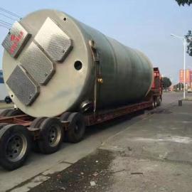 四川南充3mx8.6m地埋式一体化污水提升泵站