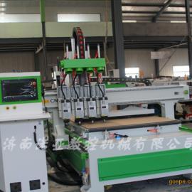 诺亚1325四头下料机价格 木工数控开料机 四工序下料机厂家