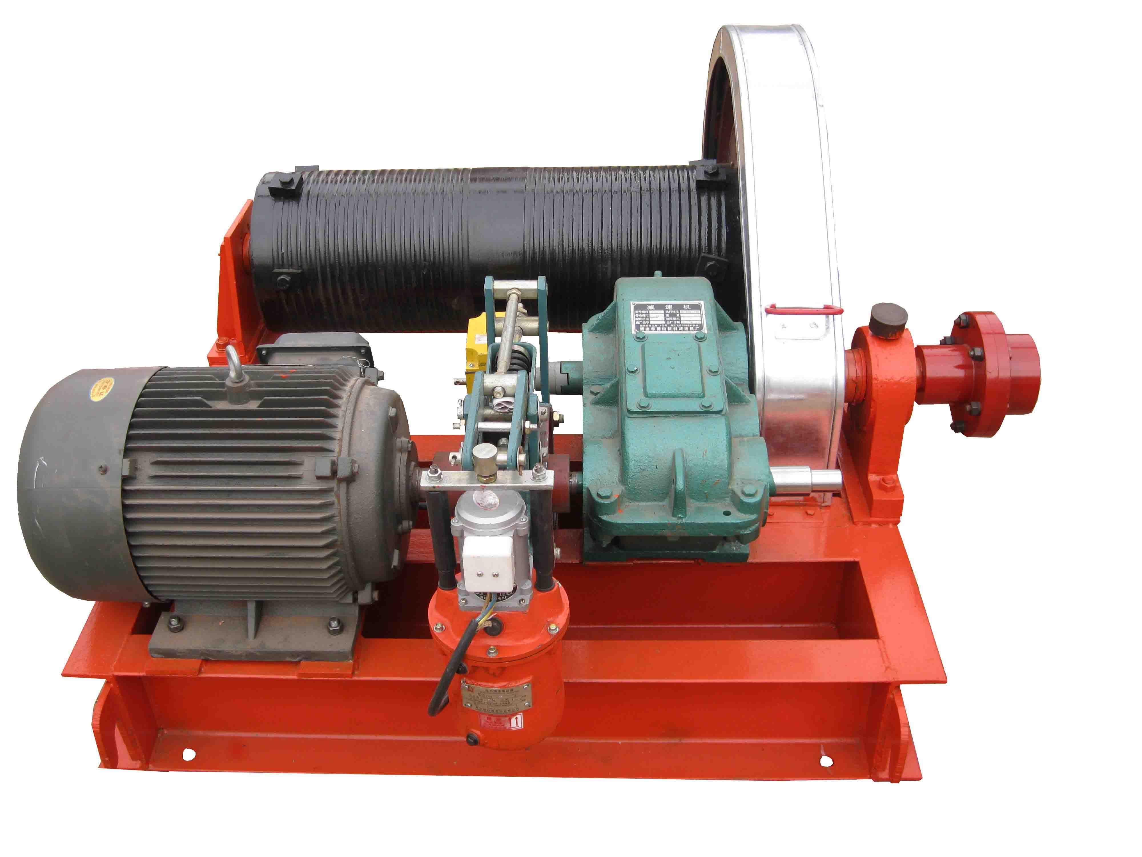 谷瀑环保设备网 水工机械      jk/jm系列建筑卷扬机是一种体积小