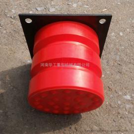 法兰盘式缓冲器 C-8聚氨酯碰头 行车防撞器