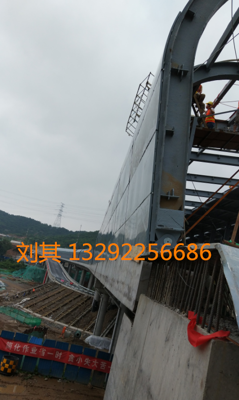 柳州市公路声屏障厂家 小区隔声屏障 中央空调声屏障