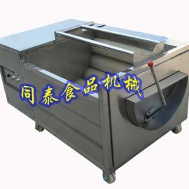 电动毛刷辊核桃清洗机