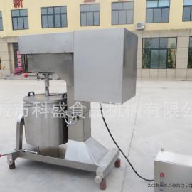 高速牛肉丸变频打浆机 小型丸子搅拌设备 肉糜调速打浆机