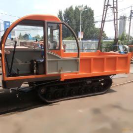 药材运输履带车 农用泥地工程履带车