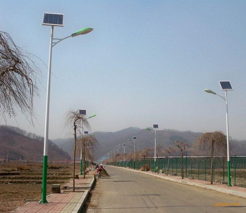 新农村太阳能路灯 太阳能路灯厂家
