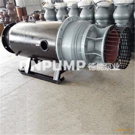 水利发电厂用斜拉式潜水泵雪橇式轴流泵