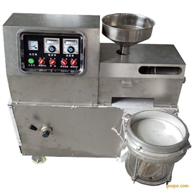 v设备小型榨油机设备榨油机大豆油压榨机花生微电机塑磁图片
