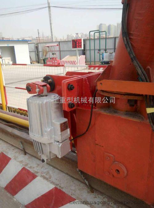 室外行车用防风设备 500车轮配套防风制动器 防风铁楔山东厂家