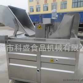 全自动油水分离油炸锅、电燃煤加热油水混合油炸机