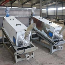 厂家直销叠螺式污泥脱水机报价低 本行制作叠螺压滤机 脱水机