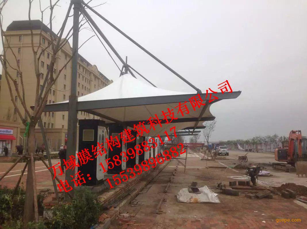 吴忠新能源汽车充电站,4s店充电站罩棚钢结构施工,全国各地