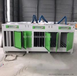 光氧化废气净化设备喷涂废气Uv光解等离子高效净化
