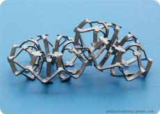 不锈钢乱堆填料不锈钢科斯特填料304科斯特花环