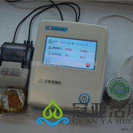 便携式水活度检测方法