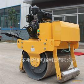 手推式压路机 单轮压路机价格手扶单轮压路机