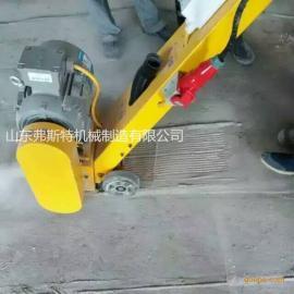 佛山市路面铣刨机 小型抓地机 电动拉毛机厂家
