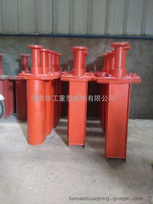 钢板焊接缓冲器 HT2-500弹簧防撞块 钢板橡胶缓冲器销往陕西山西