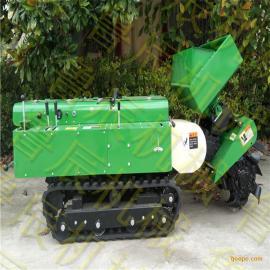 田园管理机 履带开沟机 旋耕施肥机