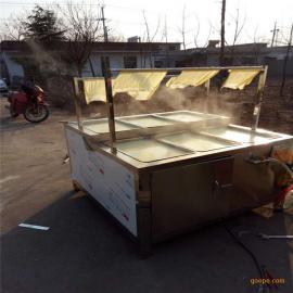 厂家直销油皮腐竹机 六盒圆形腐竹机 商用酒店油皮机
