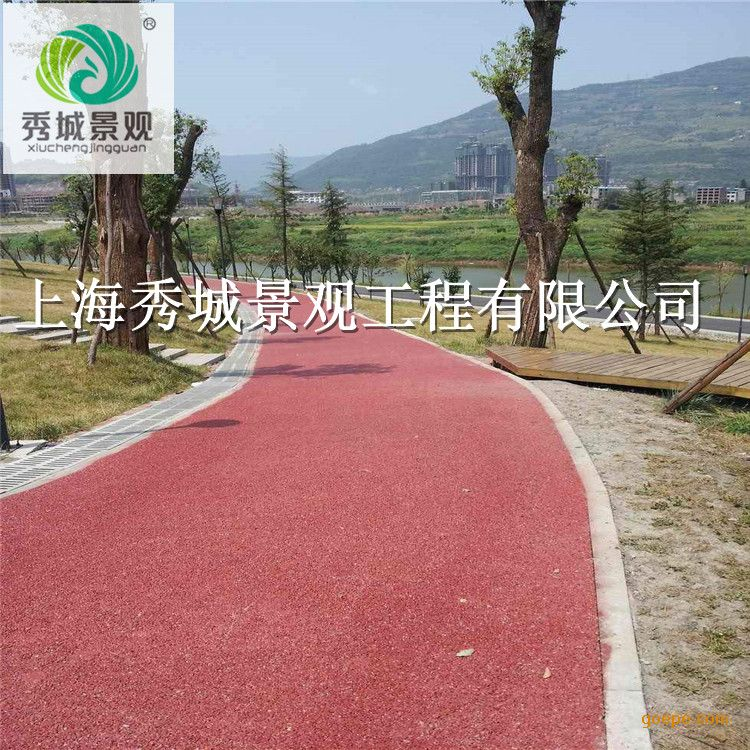 西宁海绵城市建设生态透水混凝土路面园林透水地坪材料厂家直供