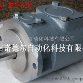 东京计器双联叶片泵F11-SQP32-35-17-86AD29-18TOKYO KEIKI