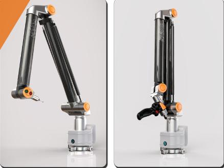 EVO系列7轴便携式关节臂三坐标测量机