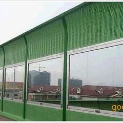 专业工程声屏障厂家、铝板消音声屏障报价、玻璃屏体隔音板屏障