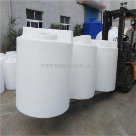 1立方白色搅拌罐1吨防腐平底加药箱价格