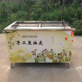 鲁辰腐竹机设备 华西加工腐竹机 多功能油皮机